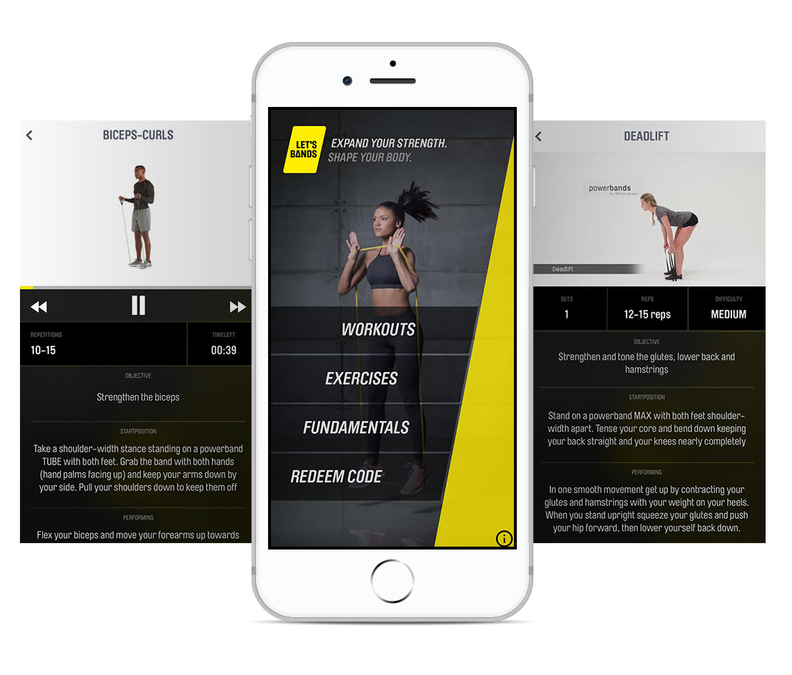 Let S Bands Powerbands Mobile App